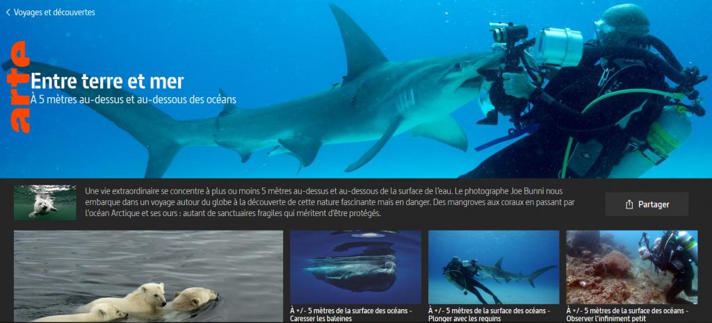 Reportage ARTE : Entre terre et mer