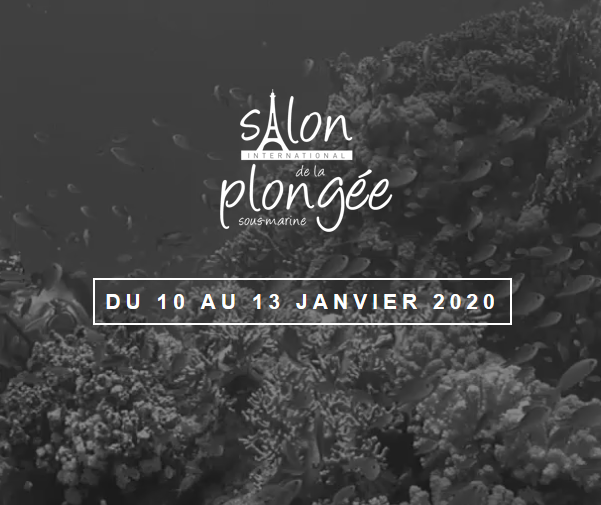 Salon de la plongée 2020 - 10 au 13 janvier
