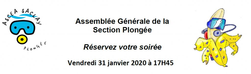 Assemblée Générale le vendredi 31 janvier 2020 !